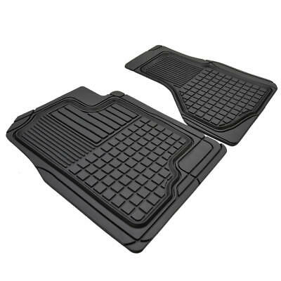 $29.50 • Buy Custom Fit Rubber Floor Mats For Car SUV Vans - Heavy Duty All Weather (2pc)