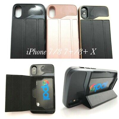 AU12.95 • Buy Shockproof Heavy Duty Case With Card Holder Stand For IPhone X / XS 5.8'' + 1TPG