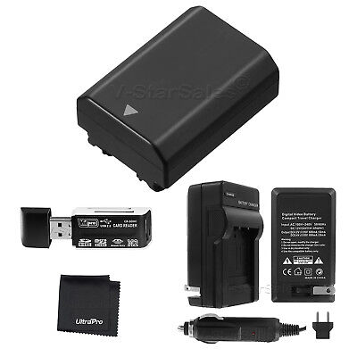 $ CDN54.90 • Buy NP-FZ100 Battery + Charger + Card Reader For Sony Alpha A9 A7R III A7 III