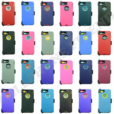 AU12.97 • Buy For IPhone 8 Plus Case Cover With Universal Belt Clip Fits Otterbox Defender