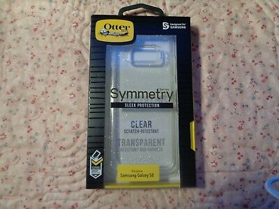 $ CDN24.98 • Buy Genuine Authentic OtterBox Symmetry Case Samsung Galaxy S8 Clear With Sparkles