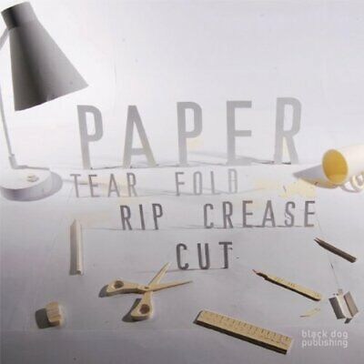 £3.99 • Buy Paper: Tear, Fold, Rip, Crease, Cut By Richard Sweeney Paperback Book The Cheap