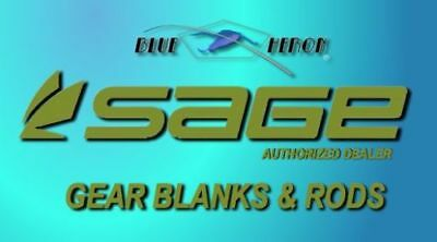 $370 • Buy Sage Gear Rod Blanks  (casting--center Pin--spinning--single Action)