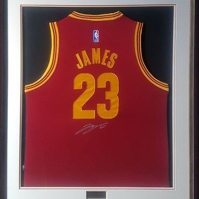 AU1995 • Buy Lebron James Deluxe Signed And Framed Jersey