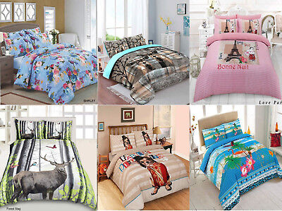 AU40.89 • Buy 3D Printed Duvet Cover+ Pillow Case Quilt Cover Bedding Set Single Double King
