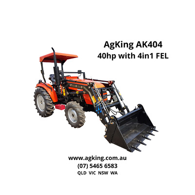 AU19500 • Buy New 40hp Tractor For Sale  AK404 Bonus 4ft Slasher