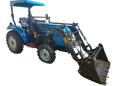 AU18000 • Buy 30hp AgKing AK304 Tractor With FEL And Industrial Tyres