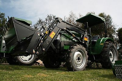 AU23990 • Buy New 2019 55hp Tractor 4 In 1 Front End Loader