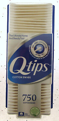 $ CDN18.61 • Buy Q-tips 750 Count Cotton Swabs Brand NEW Sealed Sterile Ears