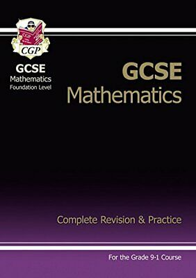 £5.99 • Buy New 2021 GCSE Maths Complete Revision & Practice: Foundation Inc... By CGP Books
