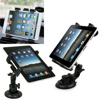 Windscreen 360 Rotate Car Suction Mount Holder 7  To 11  For Tablet IPad Samsung • 6.90£