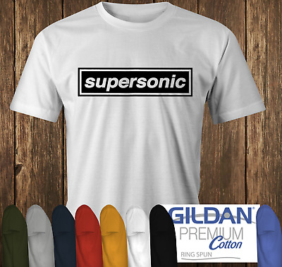 £11.99 • Buy SUPERSONIC T-shi OASIS & Liam Noel Gallagher Inspired Britpop Classic Rock Band