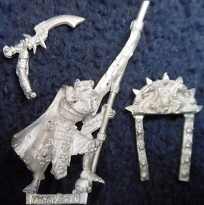 2002 Undead Tomb Kings Limited Edition Army Standard Bearer Games Workshop BSB • 73£