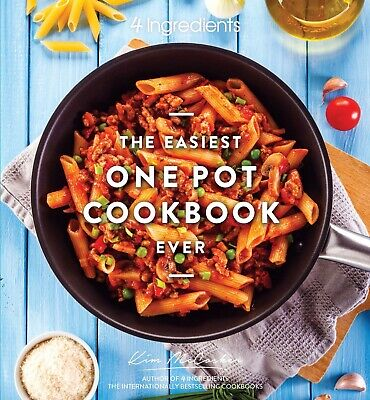 AU24.99 • Buy Direct From 4 Ingredients: The Easiest One Pot Cookbook Ever! Signed By Kim.