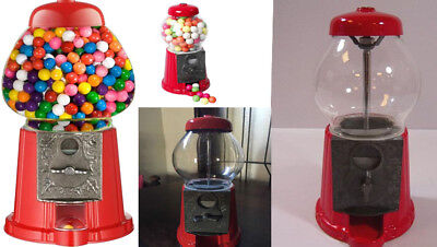 Kids Fun Gumball Dispenser Machine Toy With Bubble Gum Party Bag Coin Operated  • 15.29£