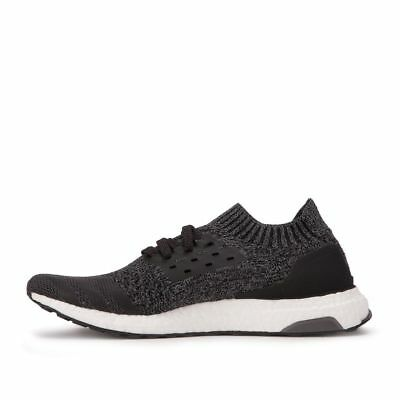 9746f560fead4 New Men s Adidas Ultra Boost Uncaged Core Black Solid Grey BY2551 • 113.71