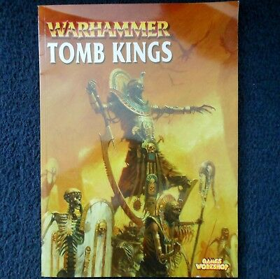 2002 Undead Tomb Kings Warhammer Army Supplement Codex Games Workshop Book List • 30£