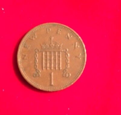 Uk New Penny 1971 1p Coin Very Rare Valuable Coin • 252£