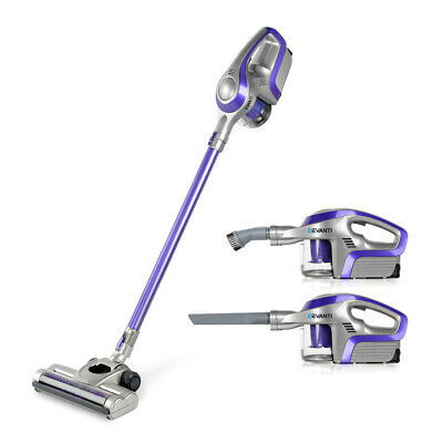 AU95.95 • Buy Devanti Cordless Stick Vacuum Cleaner - Purple & Grey