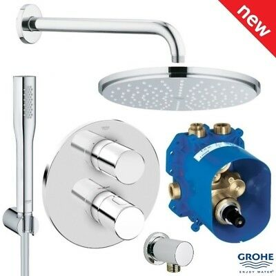 GROHE Grohtherm 3000 Cosmopolitan + Rainshower Shower Solution Pack 4, 118323 • 434.95£