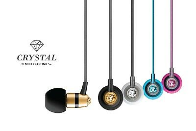 $ CDN13.80 • Buy Crystal By MEE Audio In-Ear Headphones With Mic Made With Swarovski Crystals