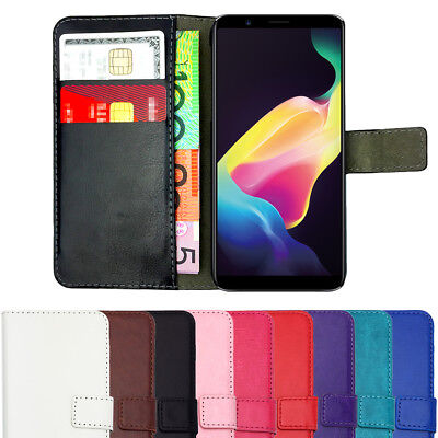 AU6.45 • Buy Leather Flip Wallet Case Stand Gel Slim Cover For Oppo A57 A73 F5 R11S & Plus