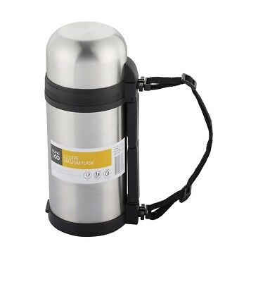 AU29.99 • Buy 1.2 L Stainless Steel (inner/outer) Vacuum Thermos Double Insulated Travel Flask