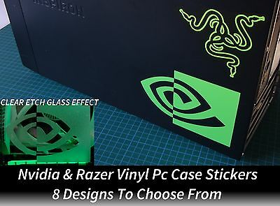 $ CDN6.02 • Buy  Nvidia & Razer PC Case Stickers Msi Asus Evga Gigabyte GTX 1060 1070 1080 Ti