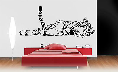 Tiger Animal Transfer Wall Decal Sticker A22 • 21.99£