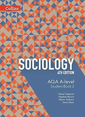 £15.99 • Buy AQA A Level Sociology Student Book 2: 4th Edition (Collins AQA... By Aiken, Dave