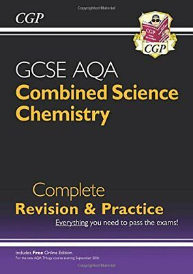 £3.29 • Buy 9-1 GCSE Combined Science: Chemistry AQA Higher Complete Revisio... By CGP Books