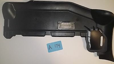 $25.95 • Buy BMW E46 99-05 FRONT RIGHT LOWER DASHBOARD PANEL TRIM COVER Black 51458224814