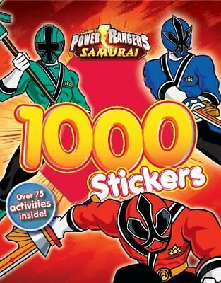 £13.99 • Buy Power Rangers 1000 Sticker Book By Saban Book The Cheap Fast Free Post