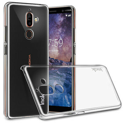 AU14.99 • Buy For Nokia 7 Plus IMAK Transparent Crystal PC Hard Case Cover For Nokia 7 Plus