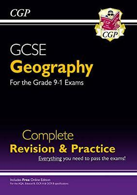 £4.49 • Buy Grade 9-1 GCSE Geography Complete Revision & Practice (with Onli... By CGP Books