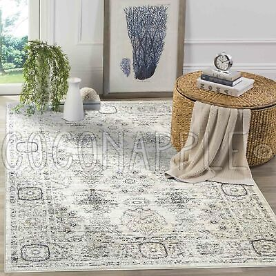 AU95.96 • Buy Klein Allover Oriental Cream Transitional Floor Rug - 3 Sizes **FREE DELIVERY**
