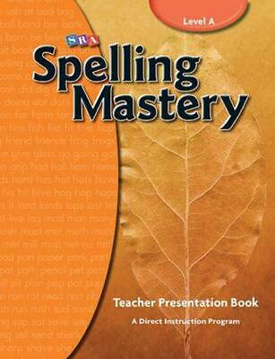 AU290.95 • Buy Spelling Mastery Level A, Teacher Materials: Level A Teachers Materials By McGra