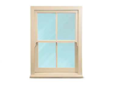 Timber Sash Windows - NEW -  ANY SIZE* - £379 - Double Glazed And Fully Painted • 379£