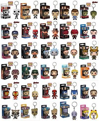 AU15.72 • Buy Keychain Funko Pocket Pop! Vinyl Figure Keyring Collectible Toy Gift New In Box