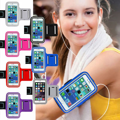 Gym Running Jogging Armband Sports Exercise Arm Band For Samsung Galaxy S8 S7 S9 • 3.75£