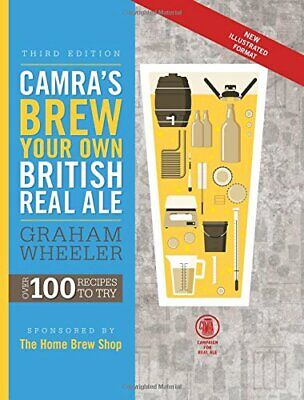 £14.99 • Buy Brew Your Own British Real Ale By Graham Wheeler Book The Cheap Fast Free Post