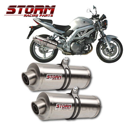 $489.23 • Buy SV 1000 SUZUKI 2003 2004 STORM By MIVV Exhaust OVAL Road Legal