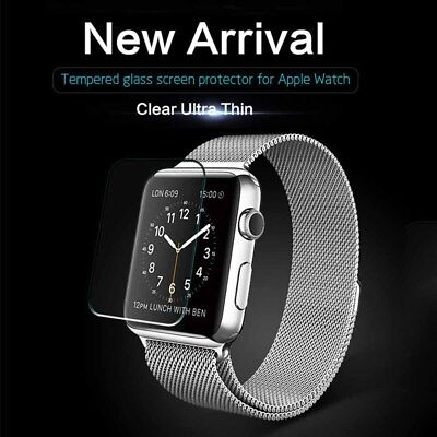 $ CDN5.32 • Buy Tempered Glass Screen Protector Film For IWatch Apple Watch Series 1/2/3 38/42mm