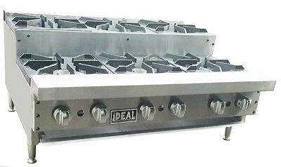 $1055 • Buy NEW 36  Commercial Step Up 6 Burners Hot Plate By Ideal. Made In USA. NSF/ETL .