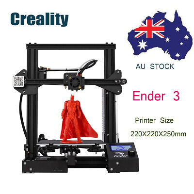 AU259 • Buy Creality Ender 3 3D Printer OSHW Certified 220X220X250mm Removable Build Plate