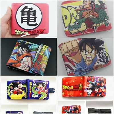 $16.49 • Buy Multi Style Anime Dragon Ball Z Wallets New Free Tracking Boys Mens