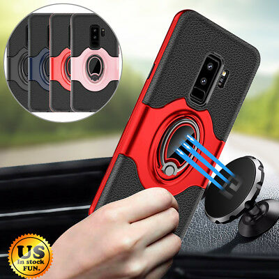 $ CDN10.37 • Buy For Samsung Galaxy S9/S8/Plus/Note 9 Ring Holder Shockproof Armor Case Cover