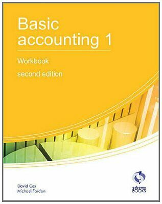 Basic Accounting 1 Workbook: 1 (AAT Accounting -... By Fardon, Michael Paperback • 5.99£
