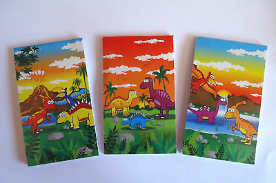 £3.69 • Buy 12 Dinosaur Dino Notebooks Notepads KIDS Birthday Party Loot Bag Fillers