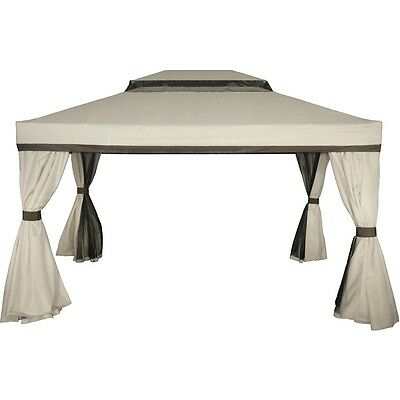 AU175 • Buy Authentic Mimosa Cairo Gazebo Cover Replacement CANOPY ONLY -New Outdoor Living